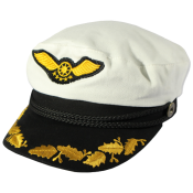 Hat with wings in front (301)