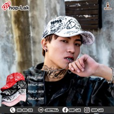 Street Hat Street Wear Belt Cap with Belt Printed All-over Printed Style 4 Colors