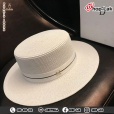 Straw hat made of 7 cm CupCake brim. Dior No.F5Ah17-0035