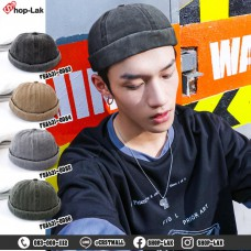 MIKi CAP Miki Hat, Bleached Denim Cap, Available in 4 Colors, Adjustable Size, Fashion Hat No.F5Ah31-0083