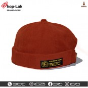 Miki Hat Miki Hat Corduroy hat with adjustable leather belt. Round hat, without brim, watermelon hat, teenagers hat, solid color No.
