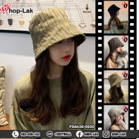 Bucket hat, fishing hat, stripe pattern, solid color, vintage style, cute intrend, available 4 colors