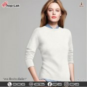 Long-sleeved knit shirt, round neck, beautiful solid color, comfortable to wear, soft fabric It has its own style, there are 6 colors, Size L, XL, 2XL model F5Cs27-0166.