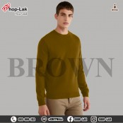 Long sleeve shirt, knitwear, round neck shirt, solid color, beautiful, comfortable to wear, soft and light fabric, good texture. It has its own style, there are 6 colors, Size L, XL, 2XL model F5Cs27-0166.
