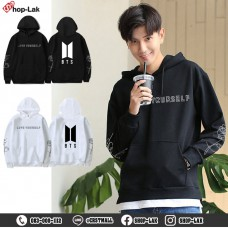 BTS Bangtan Boys JUNGKOOK Love Yourself Hoodie Sweater BTS JIMIN Model F7Cs04-0380