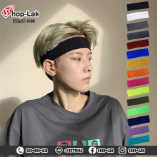 Headband, headband, make-up, sweat, dance, exercise, plastel, available in 15 colors No.F5Aa35-0100