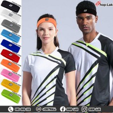 Tennese or badminton headband, embroidered YONEX headband, sweat-wicking headband during exercise, available in 10 colors No.F7Aa35-0239.
