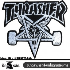 Embroidery work, hat, shirt, pants, work, embroidery, shirt, embroidery, pattern, Thrasher, arm, shirt, embroidery, Thrasher, ironing, shirt, embroidery, Thrasher, iron, Thrasher No. F3Aa51- 0013