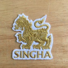 Arm, embroidered shirt, SINGHA, embroidery, SINGHA embroidery pattern, gold thread