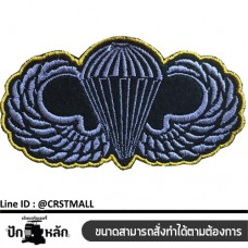 Arm-mounted military shirt, winged paratroopers Ironing badge, military pattern, winged paratroopers Ready to ship Made to order according to the size No. F3Aa51-0006