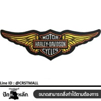 Sticker on the body, Harley Davidson, arm mount, striped shirt, harley davidson, badge, harley davidson, leather label, shirt, harley davidson No. F3Aa51-0014