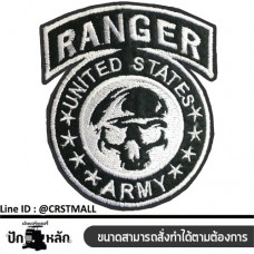 The clothes are embroidered with the RANGER US style. Cool, stylish, fitted with a RANGER US style. Leather label attached to the shirt.