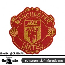 Manchester United logo Arm-mounted Manchester United jersey Manchester United badge Leather label Manchester United No. F3Aa51-0006
