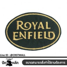 Royal Enfienld striped shirt Royal Enfienld logo Royal Enfienld embroidery label No. F3Aa51-0004
