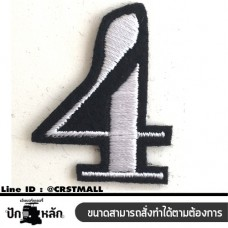 Arm-rolled clothes, embroidered pattern with 4 numbers, rolled on the shirt, embroidered with 4 numbers on the shirt, 4 numbers printed on the shirt, 4 numbers for embroidery, 4 numbers for embroidery