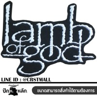 Arm, attached to the lamb pattern of god, rolled label attached to the shirt, lamb of god pattern, rolled on the shirt, lamb pattern of god, embroidery work, lamb pattern of god No. F3Aa51-0005