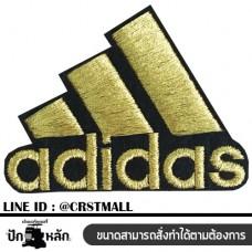 Adidas gold-plated patterned shirt, Adidas shirt label Adidas shirt roll Adidas armband, Adidas pattern Use to iron the shirt No. F3Aa51-0008