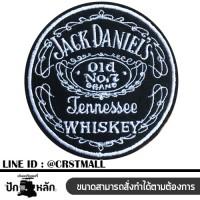 Jack Daniel Ironing badge Jack Jack pattern Ironing shirt Jack Daniel pattern Rolled shirt Jack Daniel logo Embroidery work No. F3Aa51-0010