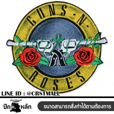Logo embroidery Gun N Roses Coat stick Gun n roses Badge Ironing gun Gun n roses Ironing shirt Gun n roses No. F3Aa51-0021