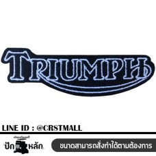 Triumph arm Triumph sign board Triumph embroidery machine logo Triumph No. F3Aa51-0006