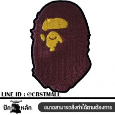 Arm  Ape Ape Badge A Bathing Ape T-Shirt A Bathing Ape T-shirt Logo Embroidery A Bathing Ape No. F3Aa51-0009