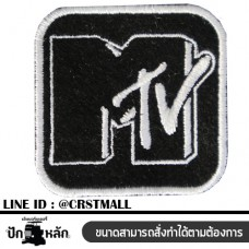 MTV sleeve MTV shirt label Ironing shirt MTV Rolled-up arm M-shirt TV Arm-mounted shirt M TV No. F3Aa51-0005