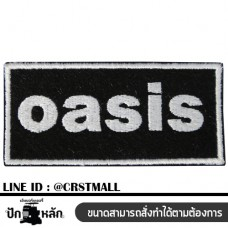 Oasis arm Oasis label Oasis shirt Arm rolled on oasis shirt Embroidered shirt oasis No. F3Aa51-0006