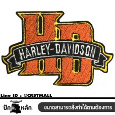 Arm rolled shirt, HARLEY DAVIDSON HD shirt, HARLEY DAVIDSON HD patterned shirt, rolled shirt, hale shirt Arm rolled on a hale shirt (F3Aa51-0008)