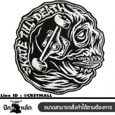 Arm rolled onto the shirt skate till death skull pattern Skate till death shirt pattern skate till death (F3Aa51-0011)