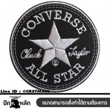Arm rolled clothes, embroidered CONVERSE CONVERSE embroidered cloth CONVERSE embroidery Rolled arm armband, CONVERSE No. F3Aa51-0005