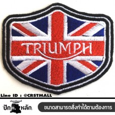 Ironing clothes, TRIUMPH embroidered clothes, TRIUMPH embroidered shirts, sticking sleeves, striped shirts Arm-mounted TRIUMPH striped shirt, embroidery, TRIUMPH pattern with delivery No. F3Aa51-0013