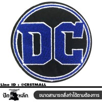 stick logo apparel embroidery clothes rolled arm DC Blue , embroidery Blue DC , DC Pattern format embroidery wear rolled logo embroidered DC logo t-shirt mounted stick t-shirt DC character the iron embroidered DC No.F3Aa51-0008.