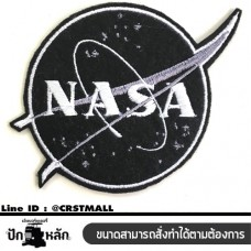 Rolled clothes attached to the NASA embroidery logo NASA embroidered clothes, rolled on a NASA embroidery pattern, iron embroidery, NASA No. F3Aa51-0006