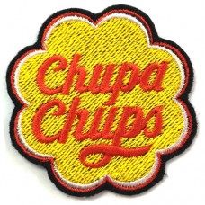 Chupa Chups embroidery arm 5x5 cm, fitted with a hat Addicted to fashion products DIY work Embroidery No.F3Aa51-0007