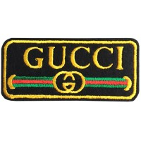 GUCCI embroidery arm, Size 7 * 3cm #, yellow, green, red, black High quality embroidery No.P7Aa52-0453