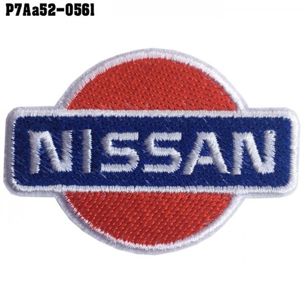 Shirt Iron on the shirt, embroidered with NISSAN car logo / Size 6 * 4cm Good quality product, sharp lines, model P7Aa52-0561.