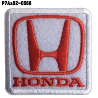 Shirt Iron, stick, shirt, arm, embroidered, car logo, HONDA, / Size 5 * 5cm Embroidery, good quality, beautiful, durable, model P7Aa52-0566