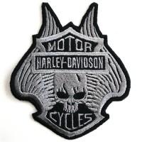Arm rolled shirt, HARLEY DAVIDSON, skull pattern Ironing shirt, Halley shirt, skull Arm rolled on a Halley shirt Arm rolled on a hale shirt Rolling Irons No.F3Aa51-0012