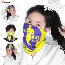 Buff fabric, sunscreen, DUST PROOF  fabric, turban, closed nose, good fabric, comfortable to wear 16 design  No.F5Ac49-0001