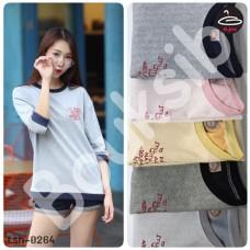 Women's Fashion Sleeveless T-shirt Suk-Chak pattern with 5 colors No.tsh-0264
