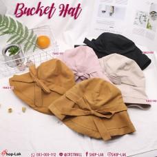 Bucket hat, wide-brimmed bow tie Cute style bucket hat, sweet Style No. F5Ah32-0150