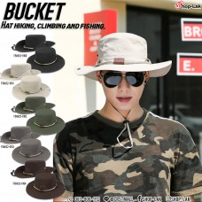 "Bucket hat, hiking, round rope, ""Traveler"" pattern, add coolness to the hat No.F5Ah32-0160"