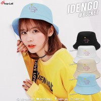 Bucket hat, embroidered with Live Laugh Love pattern, beautiful hat shape, soft and comfortable fabric No. F7Ah32-0078