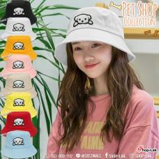 "Bucket hat, embroidered velvet, dog Embroidery hat logo ""Dog"" No. F7Ah32-0003"