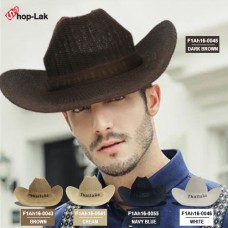 COWBOY HAT CRAFTS Woven Fabric Thailand. There are total 7 colors. No.F1Ah16-0041