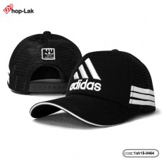 Sponge mesh embroidered logo + Adidas letters on the back, adjustable size. No.F1Ah15-0464