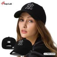 Cloth cap NY embroidered white strip can adjust the size. Size: 55-59 cm. No.F5Ah15-0574