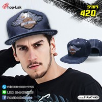 ipHop hat SNAPBACK HARLEY lace back is adjustable. No.F1Ah47-0420
