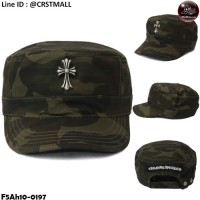 Military cap, camouflage cap Short Sleeve Green Short Sleeve No.F5Ah10-0197.