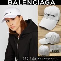 BALENCIAGA white cap BALENCIAGA CAP full front BALENCIAGA embroidery on back PARIS No.cps-0025